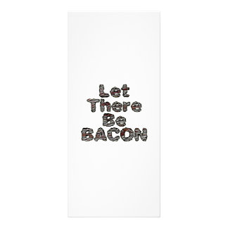 Let There Be BACON! Customized Rack Card