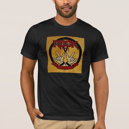 Let There Be (Cylindrical) Rock! T-Shirt