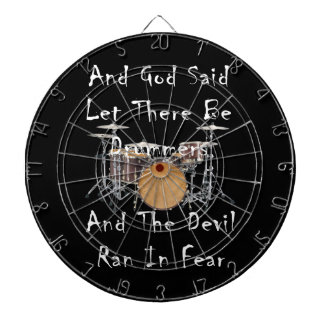 Let there Be Drummers Dart Board