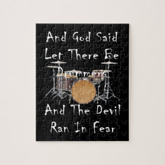Let there Be Drummers Jigsaw Puzzle