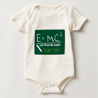Let There Be Light Baby Bodysuit