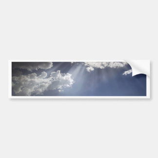 Let There Be Light Bumper Sticker