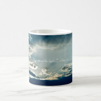"""""""Let there be light..."""" Coffee Mug"""
