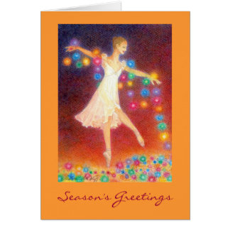 Let There Be Light Holiday Greetingcard Card