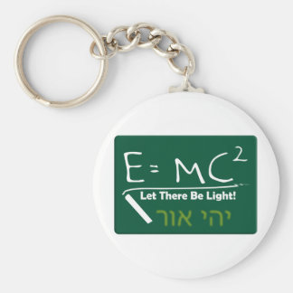 Let There Be Light Keychain