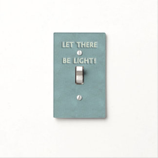 Let There Be Light Light Switch Cover