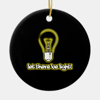 Let There Be Light Christmas Tree Ornament