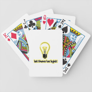 Let There Be Light Poker Cards