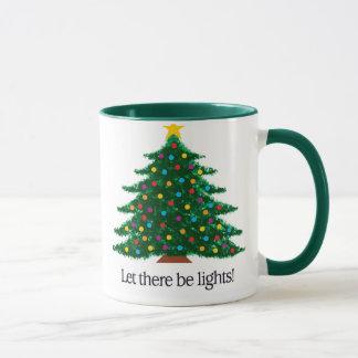 Let there be lights -- Tree Mug