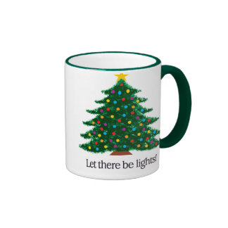 Let there be lights -- Tree Ringer Coffee Mug