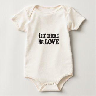 Let There Be Love - Organic Infant Creeper