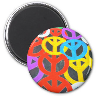 Let There Be Peace 2 Inch Round Magnet