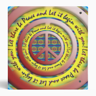 Let There Be Peace Binder