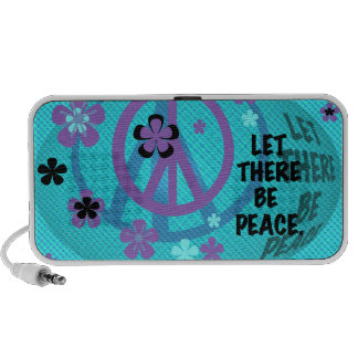 Let There Be Peace Doodle Speakers