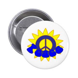 Let There Be Peace Pinback Button