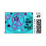 Let There Be Peace Postage Stamps