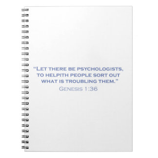 Let there be Psychologists Note Book