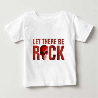 let there BE rock skull talk Baby T-Shirt