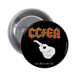 Let there be uke pinback button