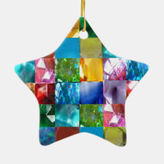 Let These GEMS bring a NEW PROSPERITY & HAPPINESS Ceramic Ornament