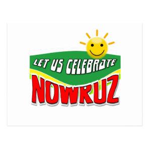 Let us celebrate Nowruz Postcard