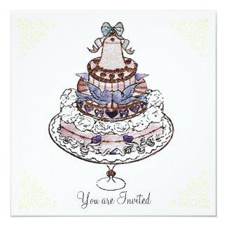Let Us Eat Cake ! ~  Invitations