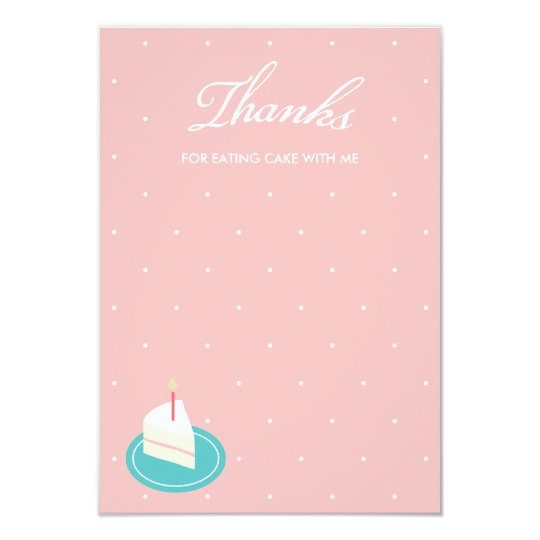 let us eat cake thank you note invitation zazzle com