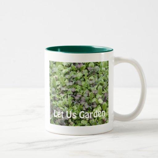 Let Us Garden Coffee Mug