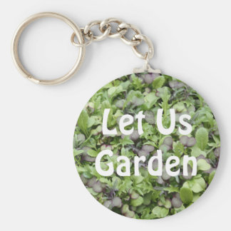 Let Us Garden Key Chains