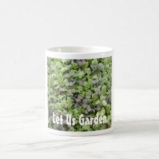 Let Us Garden Classic White Coffee Mug