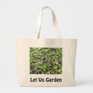 Let Us Garden Tote Bag