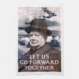 Let Us Go Forward Together Kitchen Towel