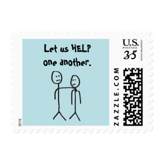 Let us HELP one another. Postage