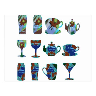 LET US PARTY : Bar, Club, Catering Kitchen GIFTS Postcard