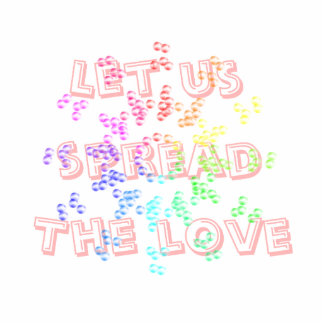Let us spread the love sculpture