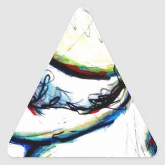 Let us take us to ideas unseen by Luminosity Triangle Sticker