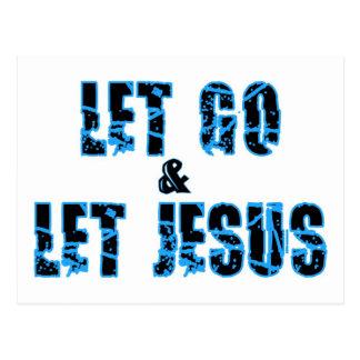 Let va dejar el diseño cristiano de Jesús Postal