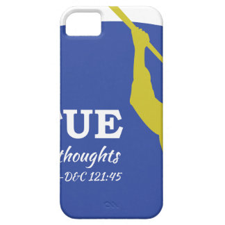 """Let Virtue Garnish Thy Thoughts"" Angel Moroni iPhone SE/5/5s Case"