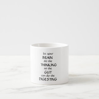 Let your brain think Mug