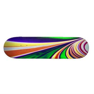 Let Your Colors Flow Skateboard