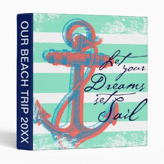 Let Your Dreams Set Sail Binder