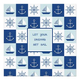 Let Your Dreams Set Sail Photograph