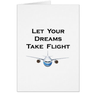 Let Your Dreams Take Flight Pilot Airplanes Gift Card