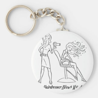 Let your favorite stylist know how you feel! keychain