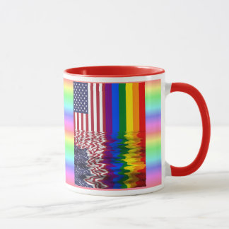 Let your Freak Flag Fly Rainbow Coffee Mug