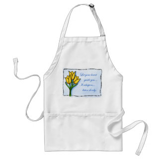Let Your Heart Adult Apron