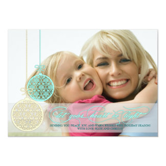 Let Your Heart Be Light Full Page Photo Card
