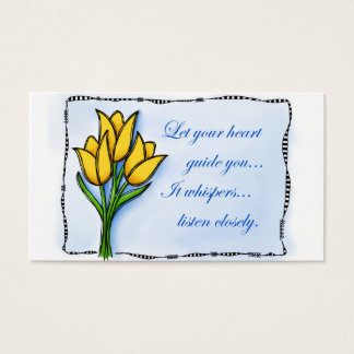 Let Your Heart Business Card