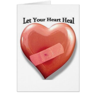 Let Your Heart Heal Card