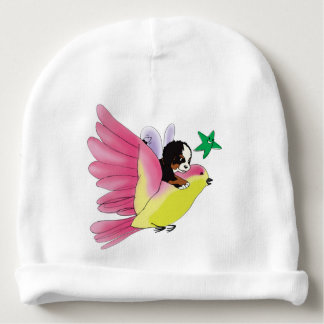 'Let Your Imagination Fly' Baby Cotton Beanie